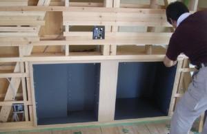 ビデオデッキの収納ボックスを製作